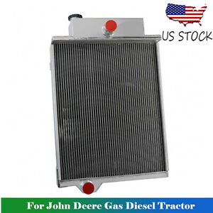 Radiator For John Deere Gas Diesel Tractor 4000 4020 Ar40832 Ar49454 Ar46434 Hot