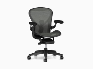 Herman Miller Aeron Chair Remastered Brand New Fully Adjustable Full Warranty B