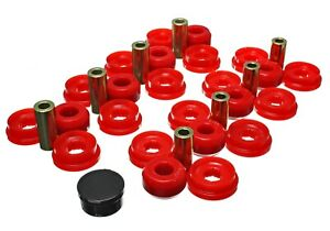 Energy Suspension Control Arm Bushing Set Red Rear For 03 09 4runner 8 3129r