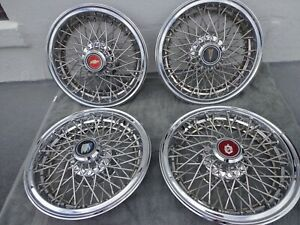 Gm 14 Wire Hubcaps Wheel Covers Chevy Monte Carlo Olds Buick Pontiac 4