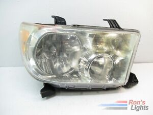 2007 2013 Toyota Tundra 2008 2017 Sequoia Oem Headlight Rh Pre owned
