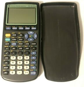 Texas Instruments Ti 83 Plus Graphing Calculator Tested Great Condition