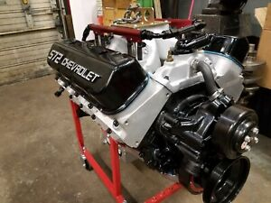 Brand New Bbc 572 Efi Built Motor And Art Carr 3 Speed Auto Tranny For Sale