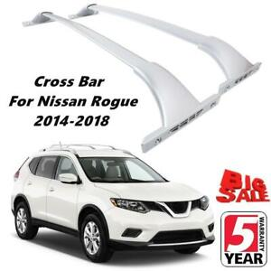 Aluminum Roof Rack Cross Bar Top Cargo Luggage Carrier For 2014 18 Nissan Rogue