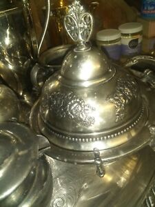 Barbour Silver Co Antique Flower Theme Rare And Elegant