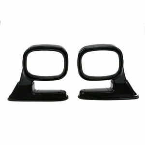 F348 Universal Blind Spot Mirror Wide Angle Rear Side View Car Truck Black