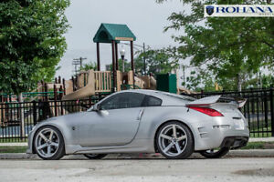 19 Rohana Rc22 Machined Silver Concave Rims For 350z 370z G35 Coupe 19x9 5 11