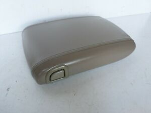 03 06 Cadillac Escalade Yukon Denali Center Console Arm Rest Lid Cover Tan Nice