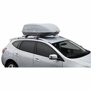 Rooftop Thule Roof Cargo Box Case Suv Car Storage Organizer Cover Carrier Rack