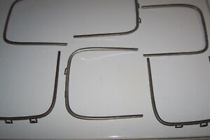 1971 Plymouth Cuda Oem Factory Original Front Grille Trim Set All Six