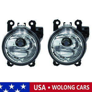 Pair Lh Rh Fog Driving Light Lamp W Light Bulb Fit For 2015 18 Jeep Renegade