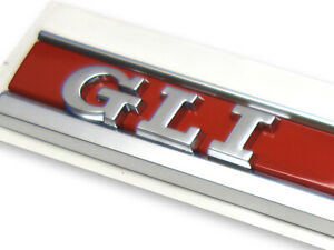 Vw Original Jetta Gli Side Wing Fender Badge Emblem For Jetta 2012 2018 1set