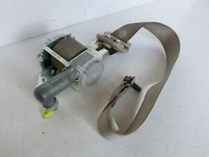 2004 2007 Toyota Highlander Driver Left Front Bucket Seat Belt Retractor Tan Oem