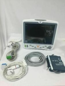 Ge Dash 5000 Patient Monitor With Co2 Module Biomed Certified