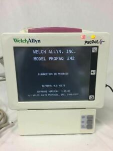 Welch Allyn Propaq Propaq 242 Cs Vital Signs Monitor With Printer