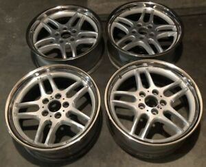 Bmw E38 Oem Mpar M Parallel 18x9 5 8 Style 37 Forged Wheels Used Set
