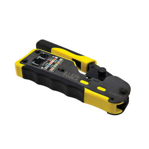 Klein Tools Vdv226 110 Ratcheting Pass thru Modular Crimper