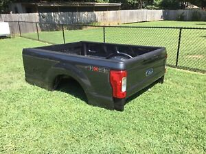 Gray 2017 2019 Super Duty 8 Long Bed New Take Off Oem Aluminum Truck Box