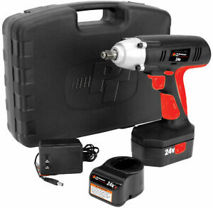 Performance Tool 24 Volt Cordless Impact Wrench W50042