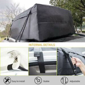 Car Roof Bag Waterproof Suv Van Rack Top Cargo Carrier Travel Luggage