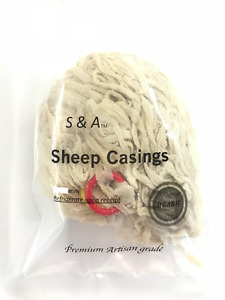 Natural Sausage Casings Sheep Casings 22 24mm Stuffs 58lb Free Shipping