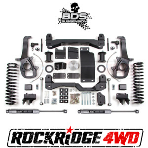 Bds 6 Suspension Lift Kit For 2013 2018 Dodge Ram 1500 Pickup W o Air ride