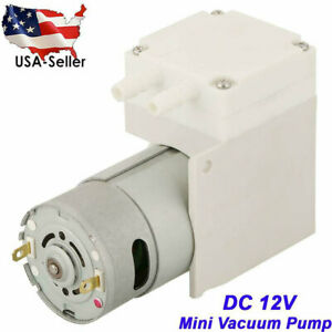 Dc 12v Vacuum Pump Negative Pressure Suction Pumping For Food Packaging Machine