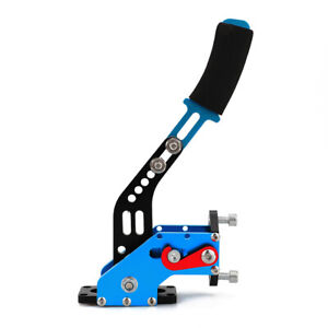 Blue Handbrake Lever Gear Lock Racing Drift Brake Parking Without Hydraulic Pump