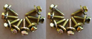 16 Body And Fender Bolts 60 70 s Ford Boss 429 Mustang Fairlane Scj Torino Gt