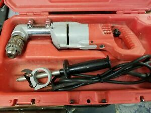 Milwaukee 1107 1 1 2 Right Angle Drill with Case