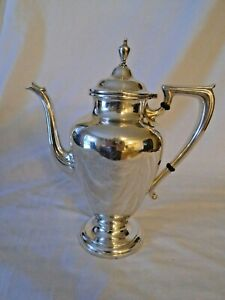 Wallace Sterling Silver 2 3 4 Pint Coffee Pot Coventry Pattern 365 23 5 Oz