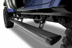 Amp Research Powerstep Electric Running Boards For 2018 2019 Jeep Wrangler Jl