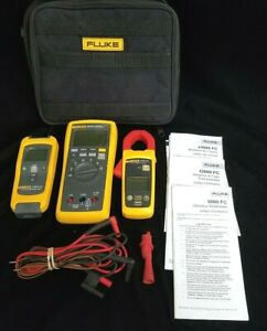 Fluke Set 3000fc Multimeter A3000fc Ac Current Clamp T3000 K type Thermometer