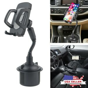 New Universal Adjustable Car Mount Gooseneck Cup Holder Cradle For Cell Phone 1