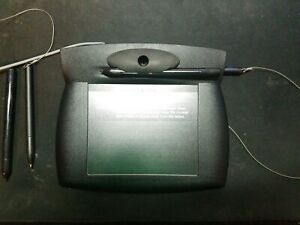 Topaz T w761 bx10p Standard Signature Pad With Serial Port Really Good Condition