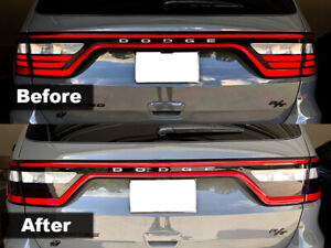 Crux Moto Tail Light Tint For 2014 2020 Dodge Durango Air Release 20 V2