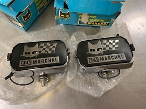 Marchal 750 Fog Light Mustang Lincoln Jeep Capri New All Chrome
