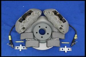 2005 2014 Ford Mustang Gt 4 Piston 14 Brembo Type Brakes Caliper Rotors Pads