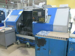 Ikegai Tu30 40 between Centers 25 swing Cnc Turning Center Fanuc 18t Live Tools