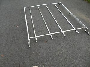 74 91 Jeep Cherokee Chief Grand Wagoneer Oem Roof Rack Luggage Rack Chrome