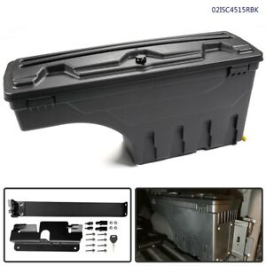New Truck Bed Storage Box Toolbox Right For Chevy Silverado Gmc Sierra 07 2018