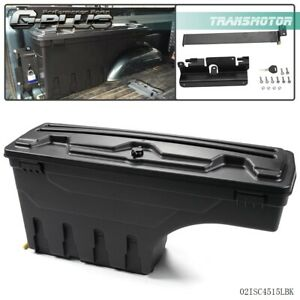 Driver Side Truck Bed Storage Box Toolbox For Chevy Silverado Gmc Sierra Pickup