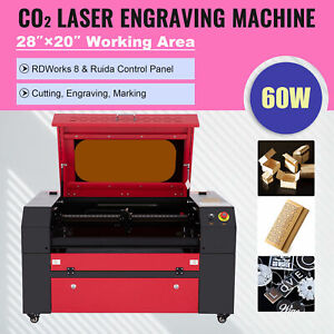 Omtech 60w 20x28in Workbed Co2 Laser Engraver Cutting Machine With Ruida Panel