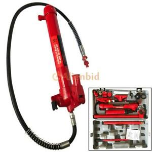 10 Ton Hd Porta Power Hydraulic Jack Shop Equipment Autobody Frame Repair Tools