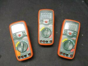 Extech Ex470 True Rms Multimeter And Infrared Thermometer lot Of 3