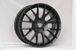 Brand New Set Of 4 Wheels 18 Rims Csl Style Black Fits Bmw 3 4 5 Seri