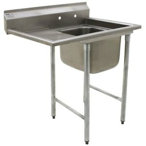 Eagle Group 414 18 1 18 L One Compartment Sink 16 Bowl 18 Drainboard