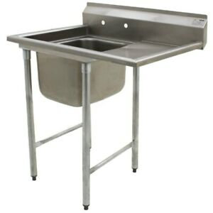 Eagle 414 22 1 24 R One Compartment Sink 22 Bowl 24 Drainboard