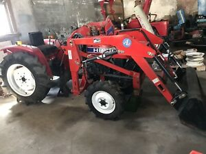 All Or Parts Hinomoto E2004d 4 Wheel Drive Tractor