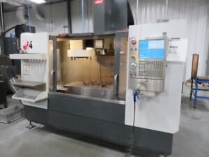 Used 2013 Haas Vf 4 Cnc Vertical Machining Center 50x20 Mill Ct40 4th Axis Ready